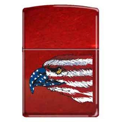 Zippo American Eagle Amp Flag